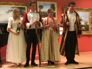 Following the Society's Annual General Meeting, young musicians from the University of Leicester directed by Dr Paul Jenkins gave a delightful concert with a modern day interpretation of The Marriage of Figaro and a medley of pieces from opera and the shows.